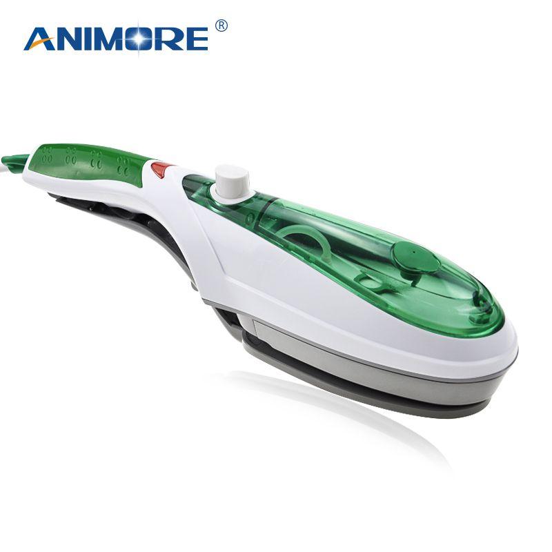ANIMORE Handheld Garment Steamer Brush Portable Steam Iron For Clothes Generator Ironing Steamer For Underwear Steamer Iron