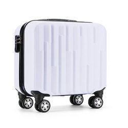Kotak Troli Bagasi koper Bisnis Merek terkenal 18 inch abs papan kotak komputer tas travel carry ons