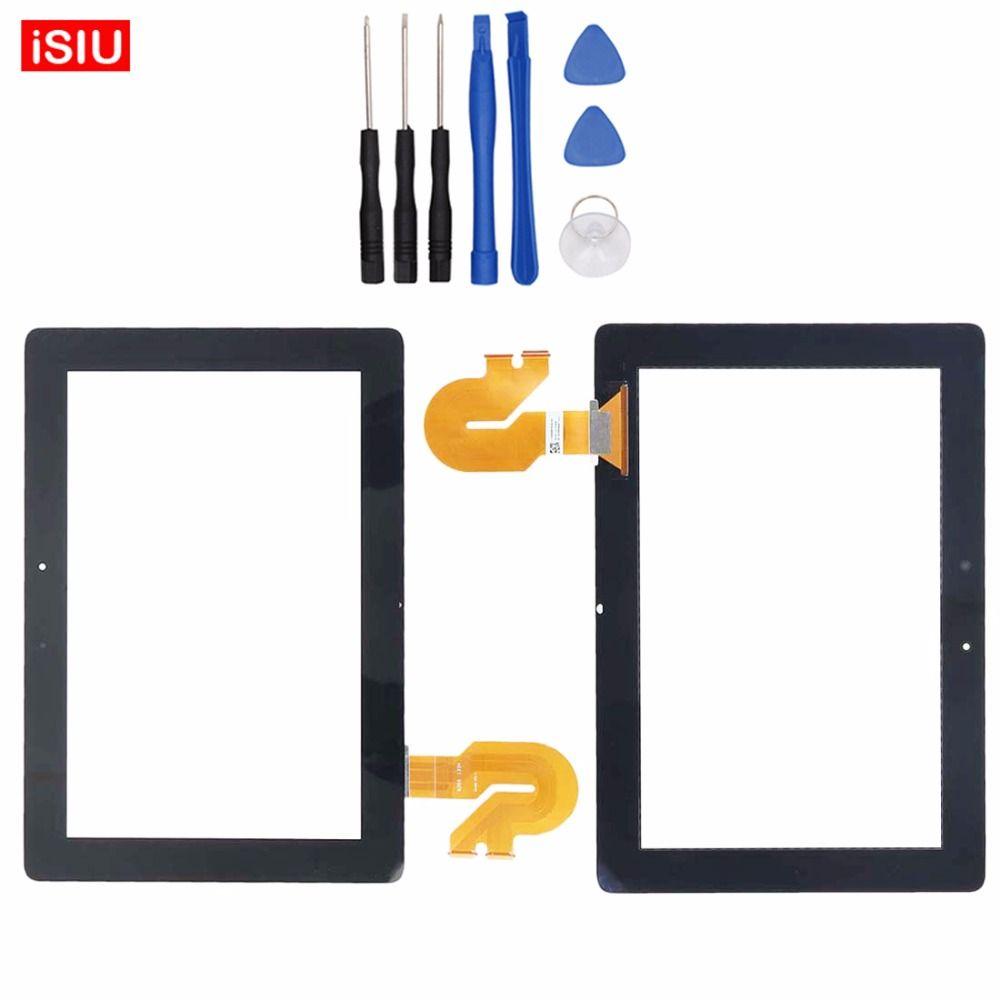 Neue 10,1 zoll Für ASUS Transformer Pad K00C/TF701/TF701T LCD Touchscreen Objektiv Glas Äußere Vorder Panel + Werkzeuge