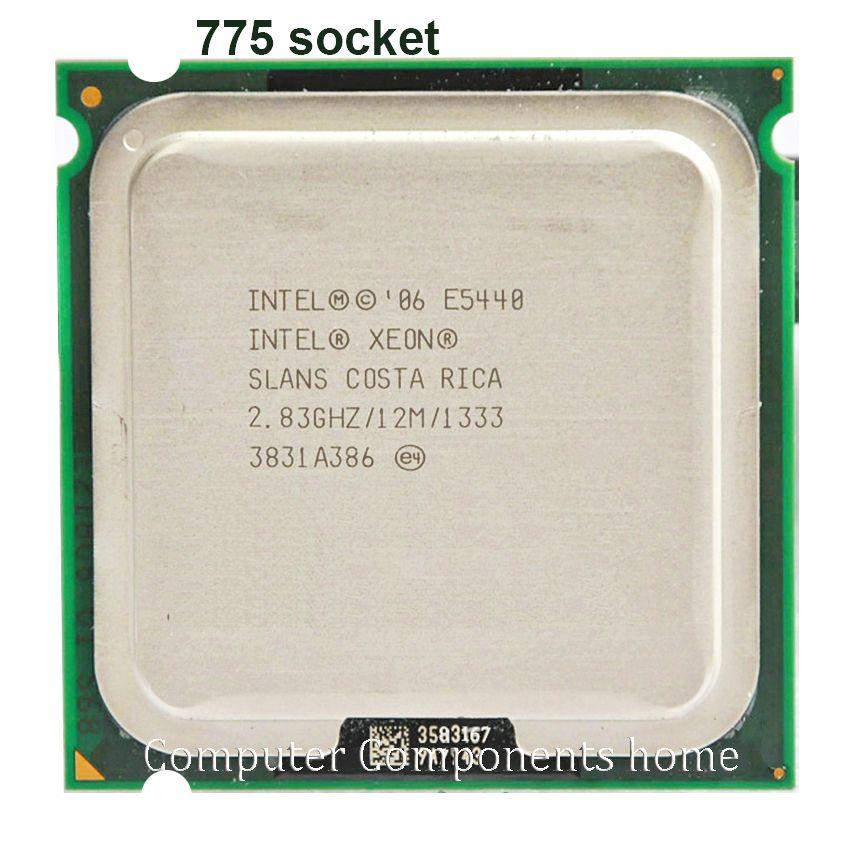 INTEL XEON E5440 CPU INTEL E5440 Prozessor (2,83 GHz/12 MB/1333 MHz/Quad-Core) CPU arbeit auf g41 LGA775 motherboard