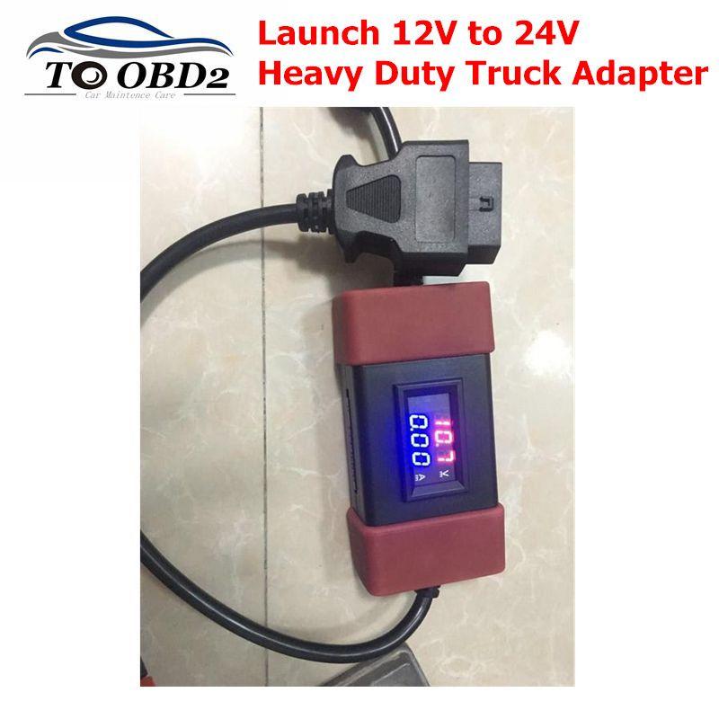 2019 starten 12 V zu 24 V Adapter Starten Heavy Duty Lkw Diesel Adapter Kabel für X431 Easydiag2.0/3,0 golo Carcare FREIES Verschiffen