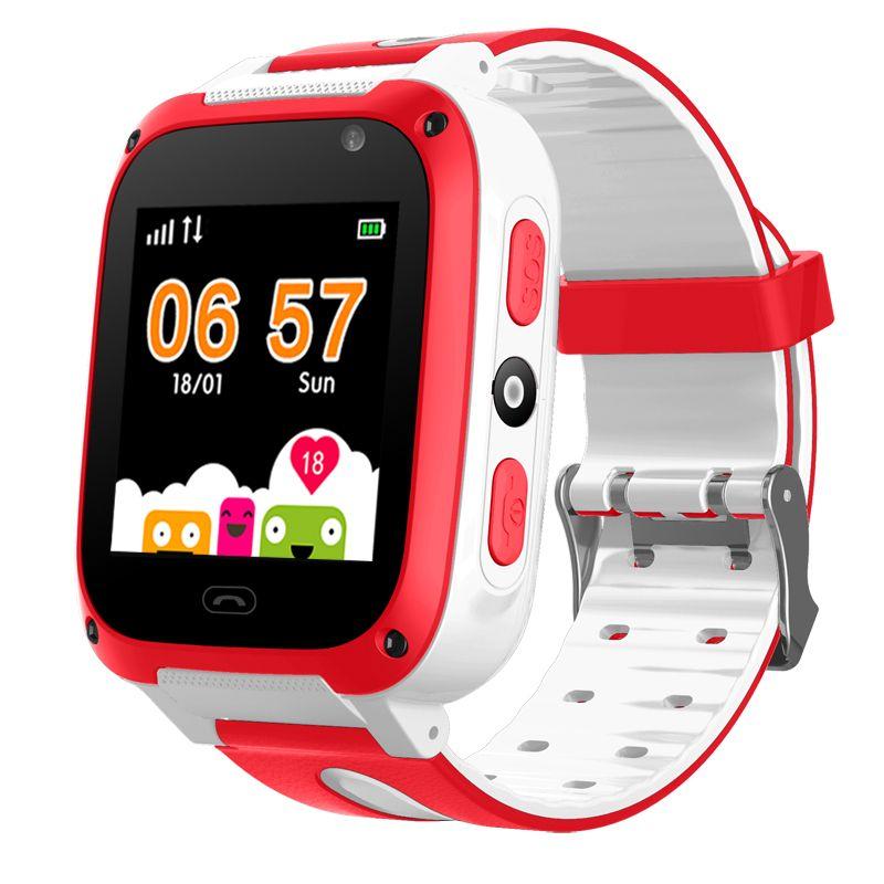 BANGWEI Children Smart Watch Digital Baby Smart Watch SOS Emergency Help LBS Positioning Tracker Card Large Capacity Battery