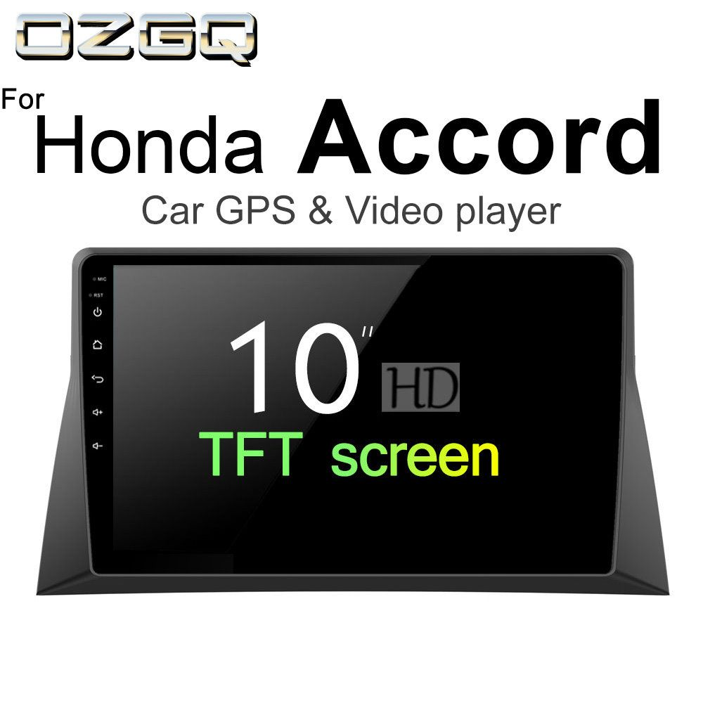 OZGQ 2din Android 7.1 Car Player For Honda Accord 8th/Inspire 2008-2012 Auto GPS Navigation Bluetooth RadioTV Audio Video Stereo