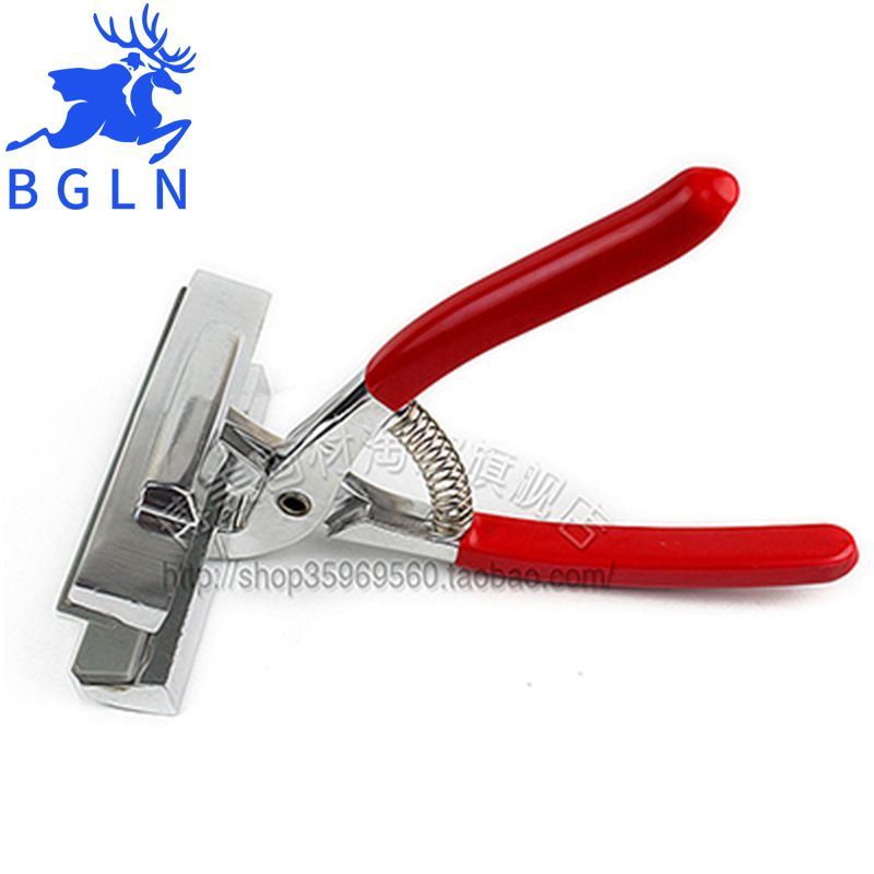 Bgln12cm Oil Painting Pliers ,Red Handle Clamp Cloth Stretched Canvas Pliers,Painting Stretch Fabric Clamp Pliers Art <font><b>Supplies</b></font>