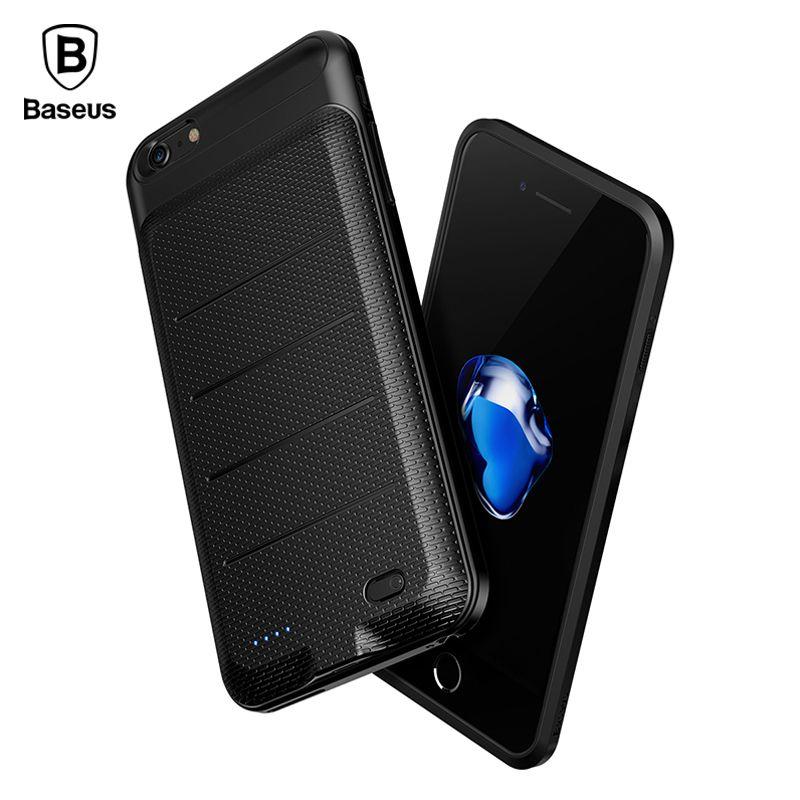 Baseus 2500/3600 mAh Batterie Chargeur Cas Pour iPhone 6 6 S Plus Batterie Externe Banque D'alimentation De Secours Cas de Couverture de charge