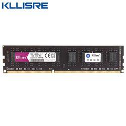 Kllisre Ram DDR3 4 ГБ 8 ГБ 2 Гб 1333 1600 МГц настольная память с радиатором 240pin 1,5 В Новый dimm