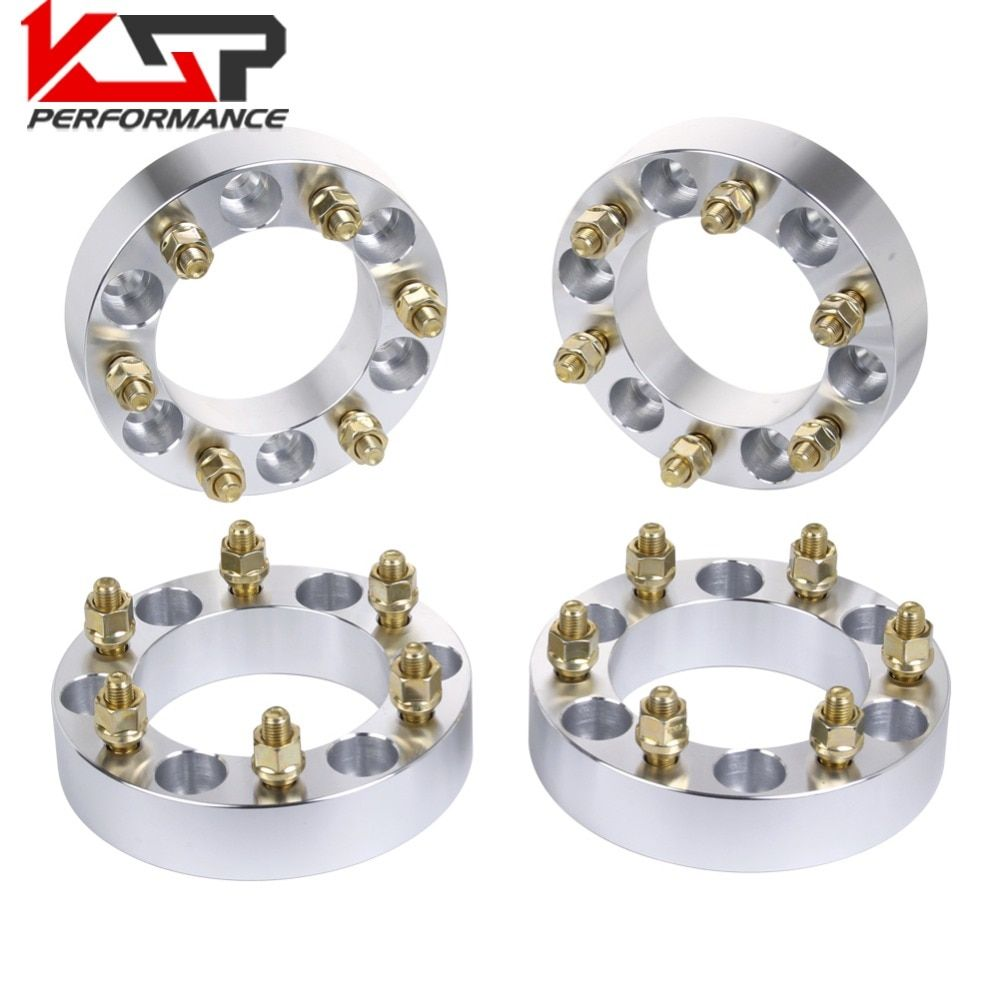 KSP 4Pcs 1.5'' 38mm Wheel Spacers Adapters 6x5.5 To 6x139.7 6 Lug 12X1.5 Studs For Toyota Tacoma 4Runner Tundra FJ Land Cruiser