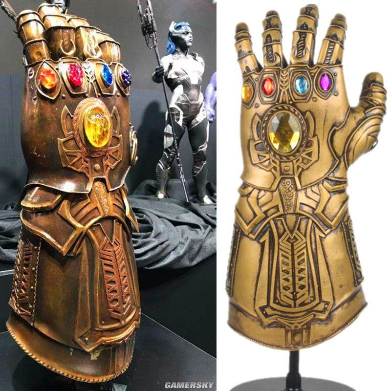 Avengers Infinity War Thanos Infinity Gauntlet cosplay prop Deluxe Superhero Thanos Glove 1:1 movie fans gift Halloween