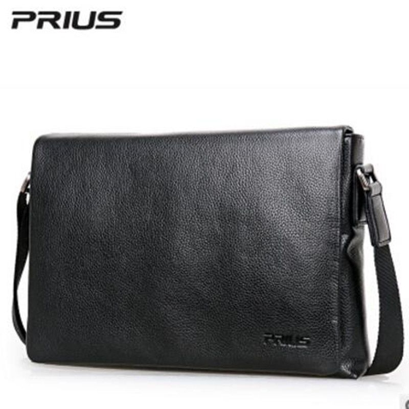 PRIUS Brand Men's Casual Package High-end Fashion 2017 New Men's Package Shoulder Bag Men Messenger Bag Shoulder Bag
