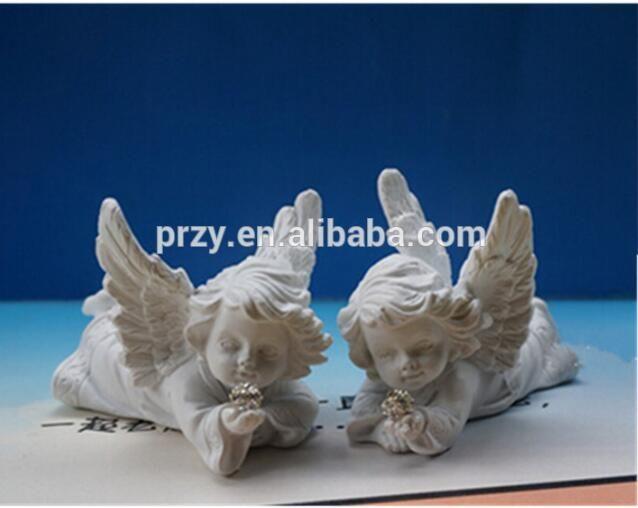 (L'un d'eux) 1 pièces moule de bougie en chocolat fondant gâteau décoration moule anges bébé en forme de bébé silicone savon moule