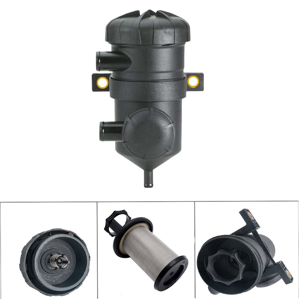 WHDZ Universal ProVent 200 Oil Separator Catch Can Filter For Ford Patrol Turbo 4WDs Charged Toyota Landcruiser  OIL CAN 2MGD-1