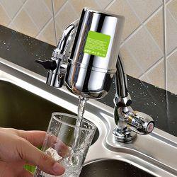 Vente chaude ménage kitchenfaucet monté pré cartouche du robinet filtre à eau