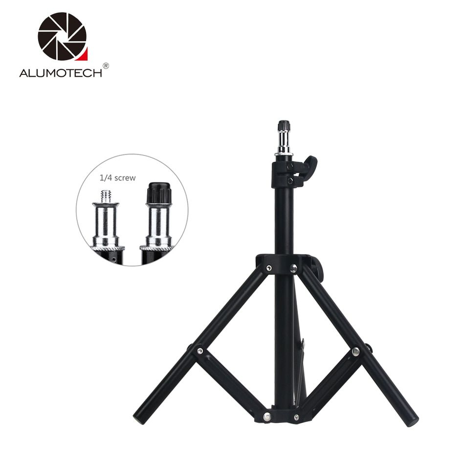 ALUMOTECH Mini Stand Tripod Max Height 60cm For Camera Video Studio Photography Equipment