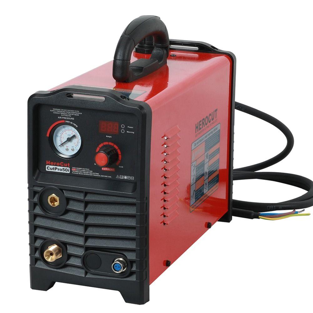 Plasma Cutter IGBT CUTPro50i 50Amps DC Air Plasma cutting machine plasma Cutter 220V clean cutting thickness 15mm