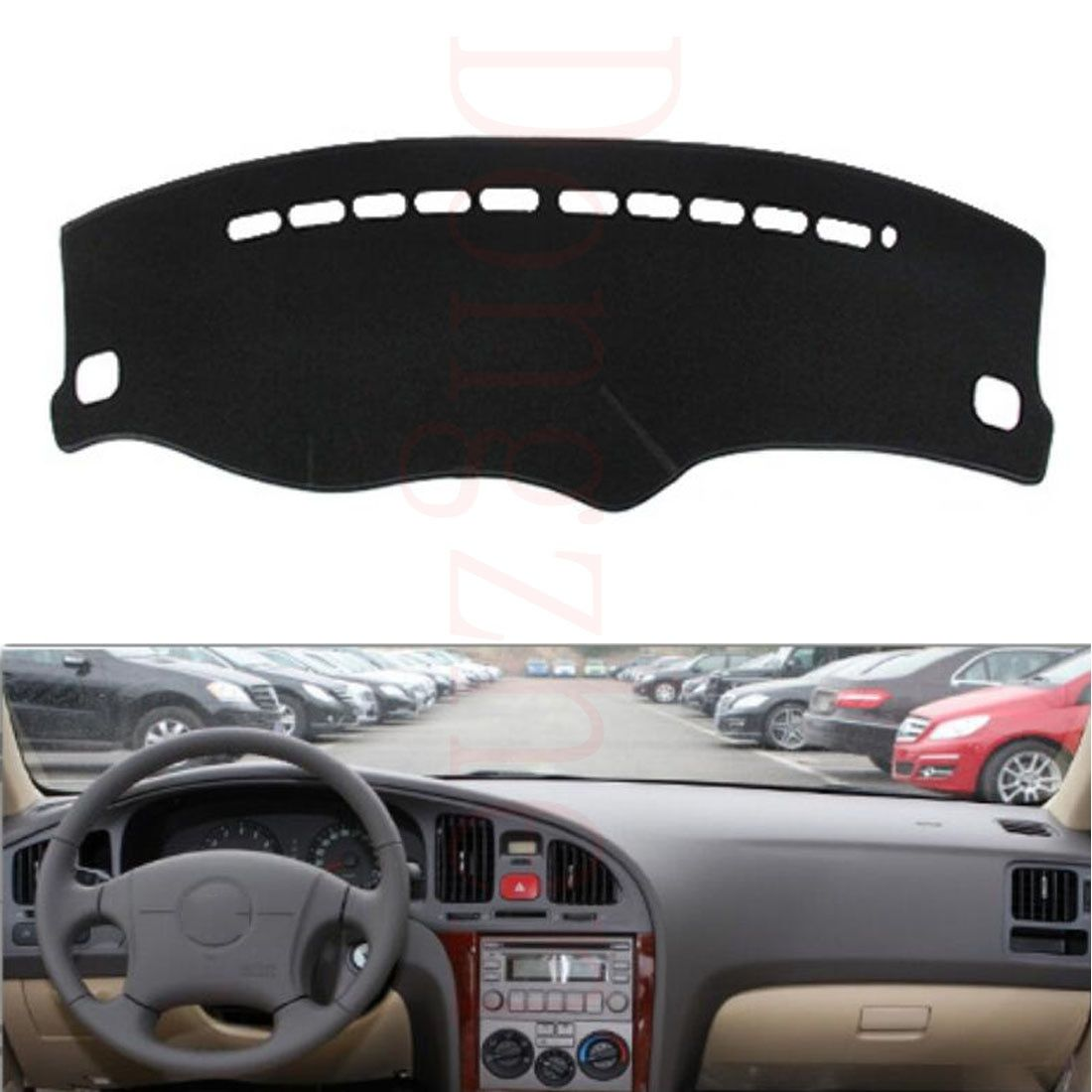 Dongzhen Fit For HYUNDAI Elantra 2004-2011 Car Dashboard Cover Avoid Light Pad Instrument Platform Dash Board Cover Car Styling
