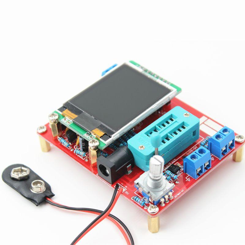 Testeur multifonctionnel GM328 Transistor testeur Diode capacité ESR tension fréquence mètre PWM carré onde Signal générateur