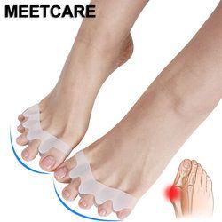 5 пальцев подножка исправление шишки на ноге перекрывающий молоток разделитель для коррекции ножной шина кости ортопедическое средство Ух...
