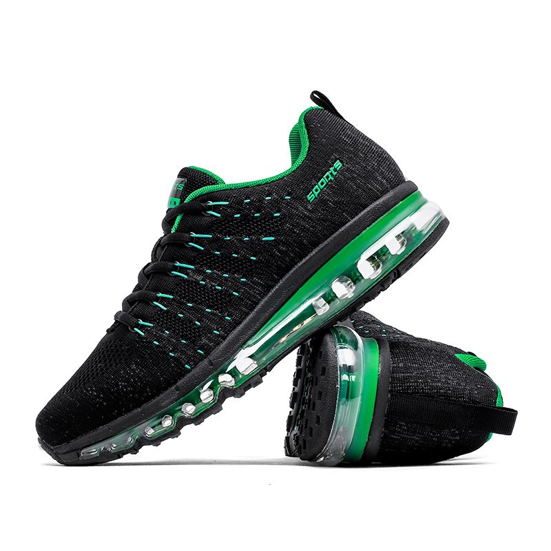 New Men Air Running Shoes for Women Brand Breathable Mesh Walking Sneakers Athletic Outdoor Sports Training Shoes 1802