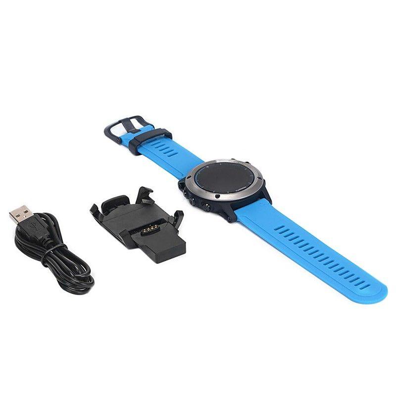 USB Dock Ladegerät Lade Daten-synchronisierungs-kabel Mit Band Für Garmin Fenix 3 Neue Uhr