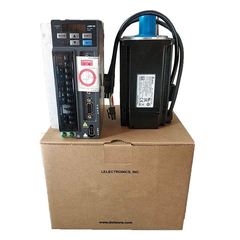 ECMA-C20807SS + ASD-B2-0721-B DELTA 0.75kw 3000 rpm 2.39N.m ASDA-B2 AC servo motor fahrer kits mit 3 m power + encoder kabel bremse