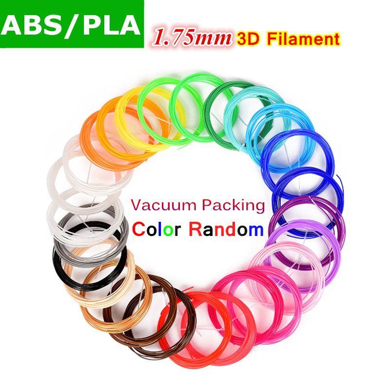10/20 Couleurs 1.75mm ABS/PLA Matériel 3D PLA Filament Pour 3D stylo 3d ABS Matériaux 3D Imprimante Fournitures Aléatoire Couleur Livraison Gratuite