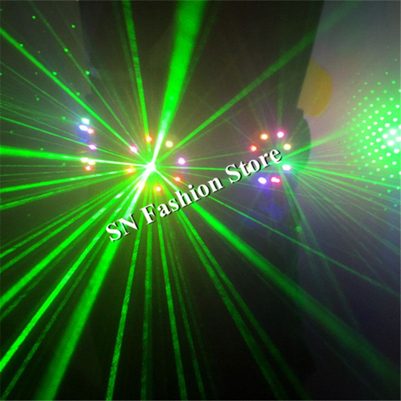 T18 Bunte licht dance kostüme laser weste ballroom disco bar led kostüme led gürtel RGB beleuchtete kleidung dj trägt laufsteg anzug