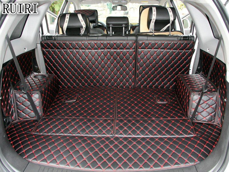 Best quality! Special trunk mats for Chevrolet Captiva 7 seats 2018-2006 waterproof boot carpets for Captiva 2017,Free shipping