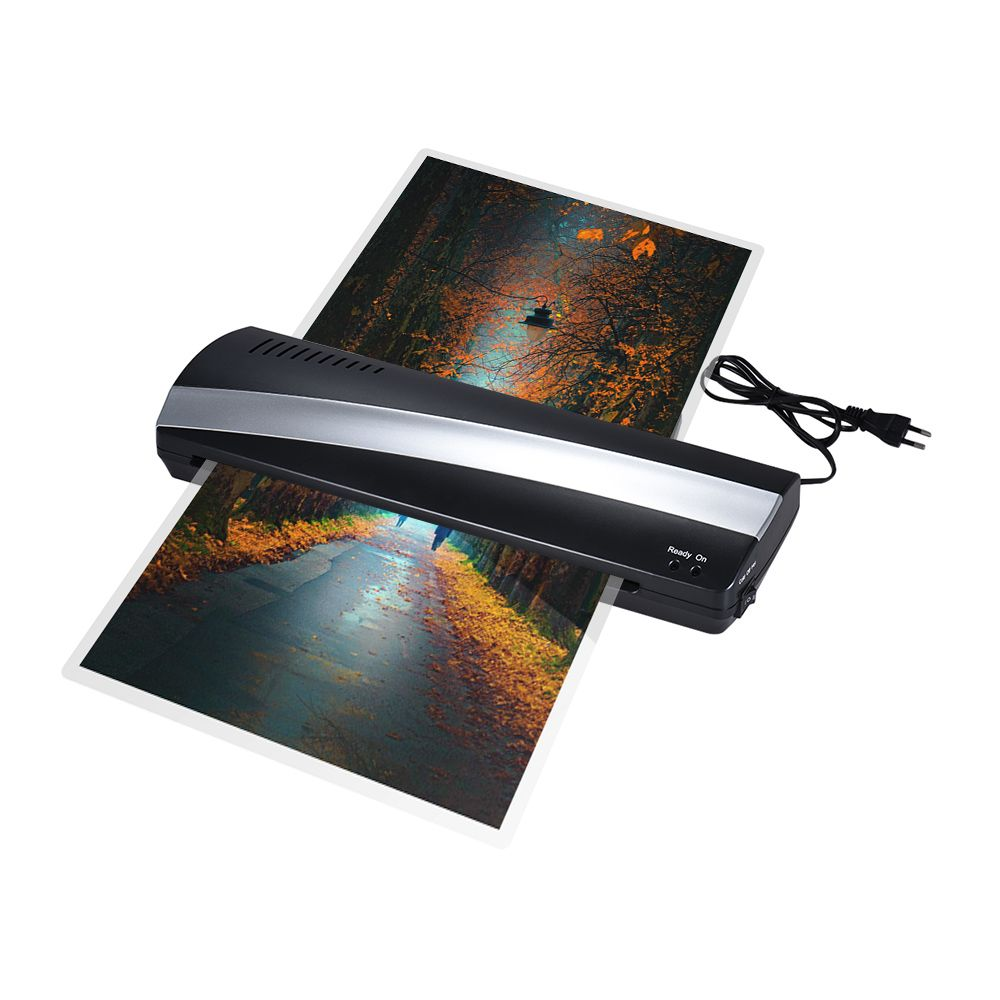 A3 Hot and Cold Photo Laminator Machine Paper Film Document Thermal Laminating Machine Width Photo Paper Fast Laminating Speed