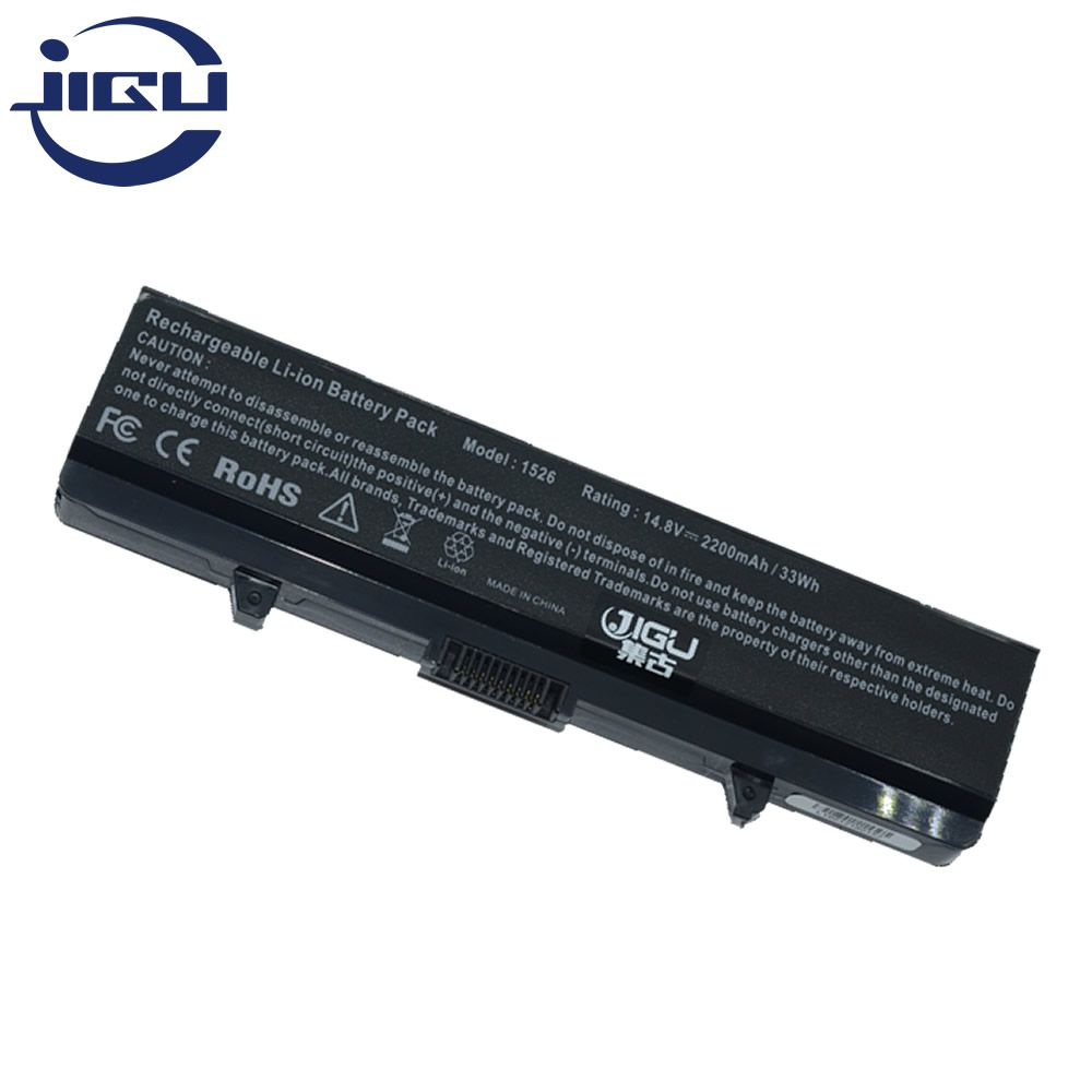 JIGU Laptop Battery For Inspiron 1525 1526 1545 For DELL 312-0625 C601H GW240 RN873 D608H HP297 RU586 GP952 M911G XR693 4Cells