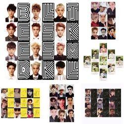Youpop KPOP EXO K M EXACTE LOTO Plante 3 EX'ACT Album Self Made Papier Cartes K-POP Signature LOMO Photo Carte Photocard
