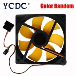 120mm 12cm pc 2v dc 3pin 4pin high quality Best silent quiet  pc case cooling fans 12cm DC 12V  plug computer coolers