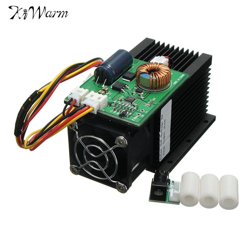 15W 15000MW Laser Head Engraving Module Diode Metal Marking Wood Cutting For Engraver