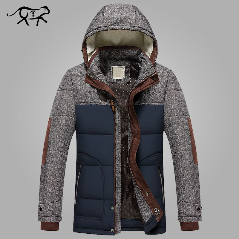 Brand Winter Jacket Men Big Size M-5XL New Arrival Casual Slim Cotton Thick Mens Coat Parkas With Hooded Warm Casaco Masculino