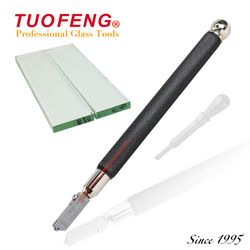TUOFENG Professional Glass Cutter YGD-3P B for Shape Glass Cutting 3-15mm Cut Glass Tools Ceramic Tile Cutter Oil-Feed TOYO Type