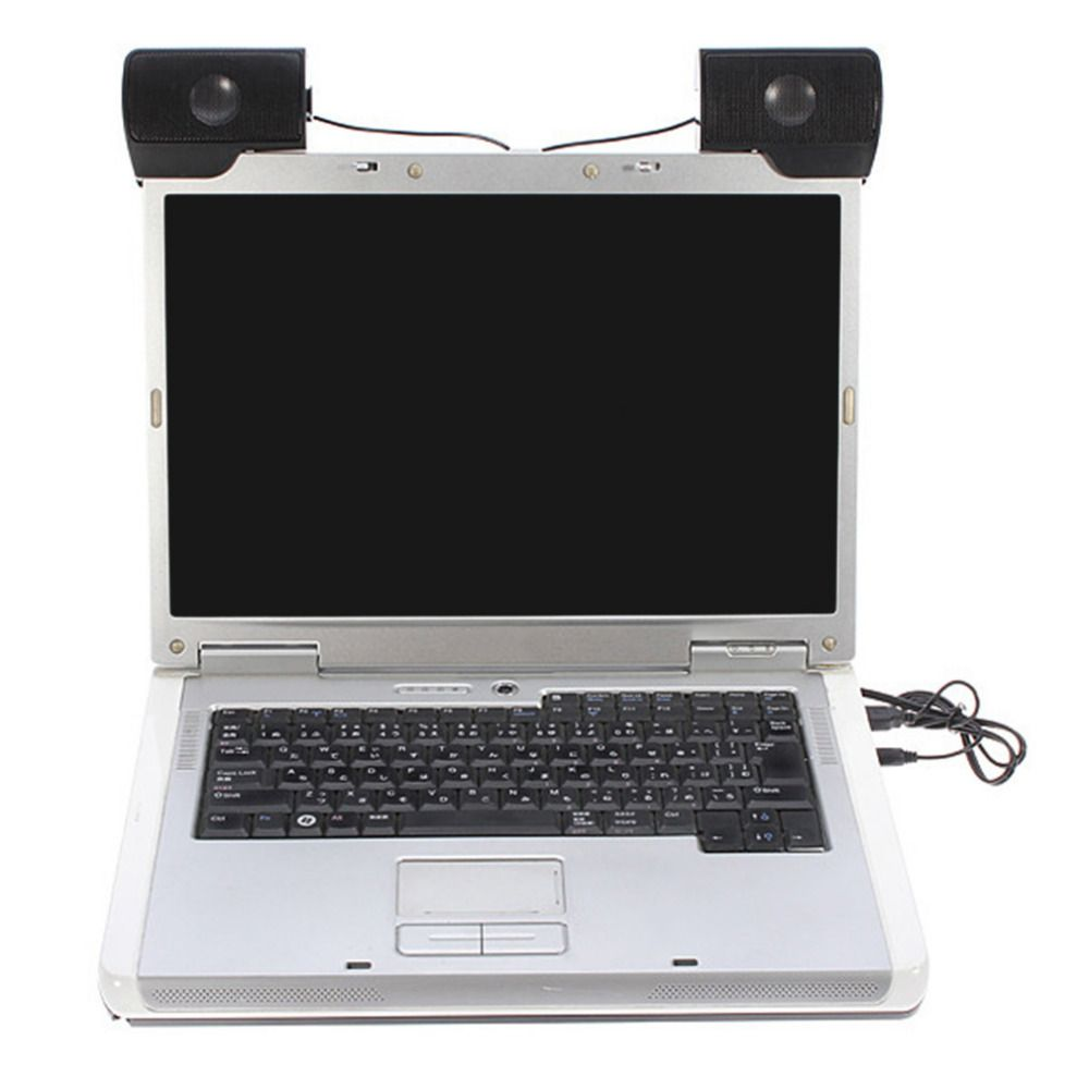 Мини Портативный USB стерео Динамик Саундбар для Тетрадь ноутбука MP3 телефон музыкальный плеер Компьютер PC с клипсой