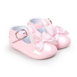 2017 Nouvelle Mode Bébé Filles Garçons Nouveau-Né Bébés Chaussures PU En Cuir Prewalkers Premiers marcheurs antidérapant Chaussures