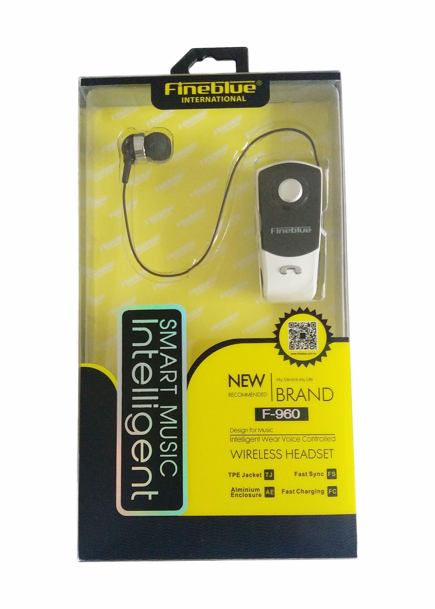Fineblue F960 Bluetooth Kopfhörer Drahtlose In-ohr Mini Freisprecheinrichtung mit Mikrofon Headset