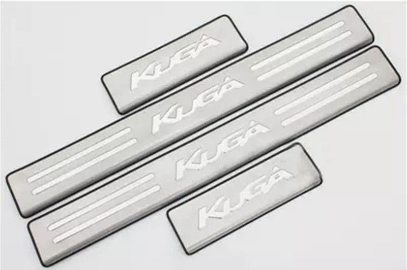Car accessories Stainless Steel Side Door Scuff Plate Door Sill Trim Fit For Ford Kuga Escape 2012 2013 2014 2015 2016 2017