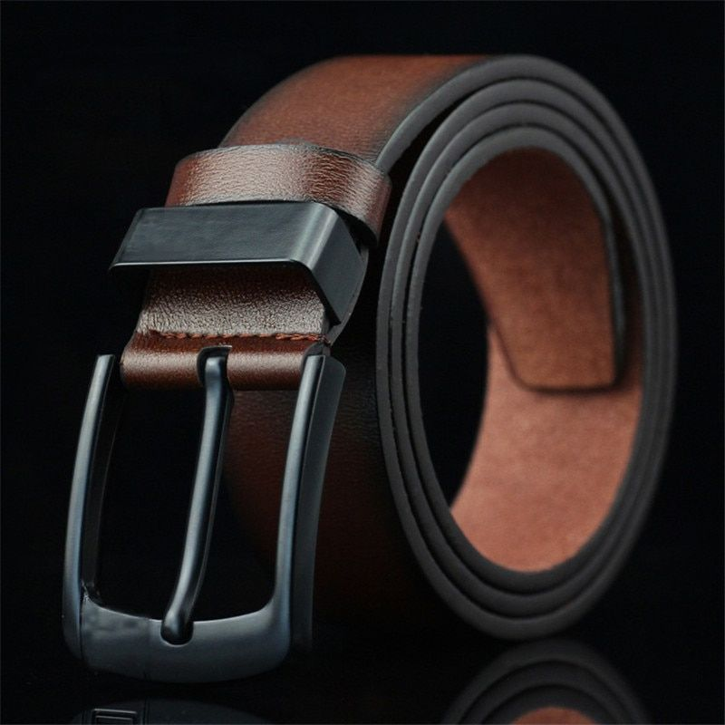 High Quality Brand Leather Men Belts Male Casual Luxury Business Man Belts
