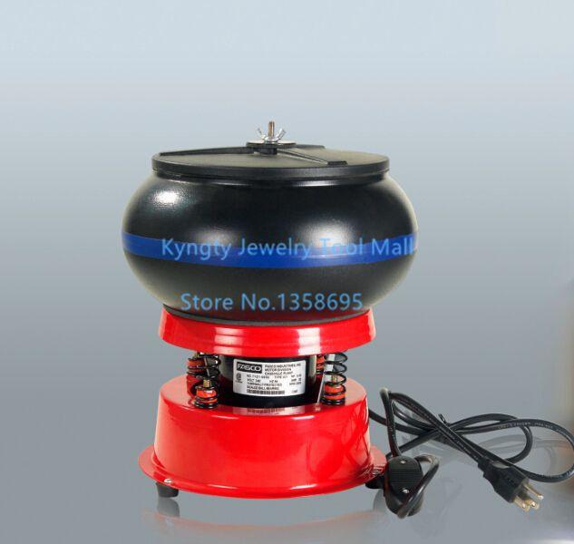 Free Shipping Lapidary Tools 220V Vibration Tumbler 8