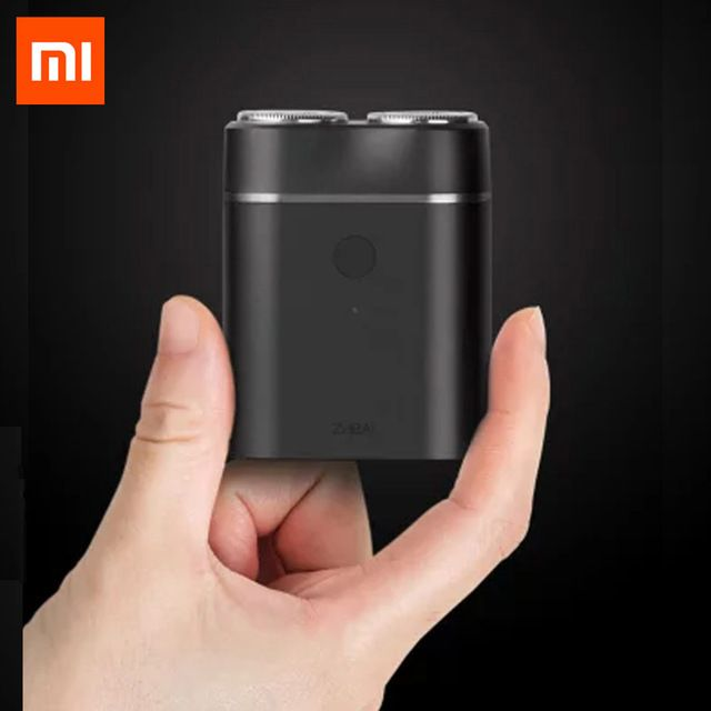 Newest Xiaomi Mijia Men Electric Razor Wet/Dry <font><b>Shaving</b></font> IPX7 Waterproof Rechargeable Mini Body Japan Steel German Technical Moto