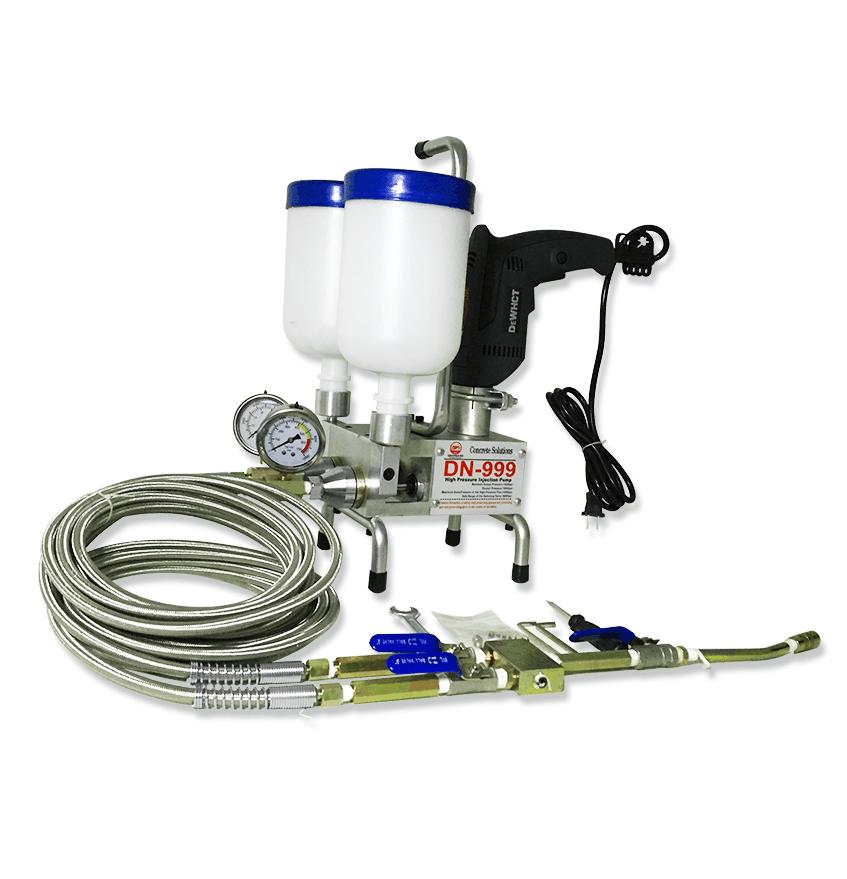 Double Élément! Mousse de polyuréthane de pompe d'injection époxyde de prime d'arrêt de l'eau efficace pour la réparation concrète de réparation de fissure de maison
