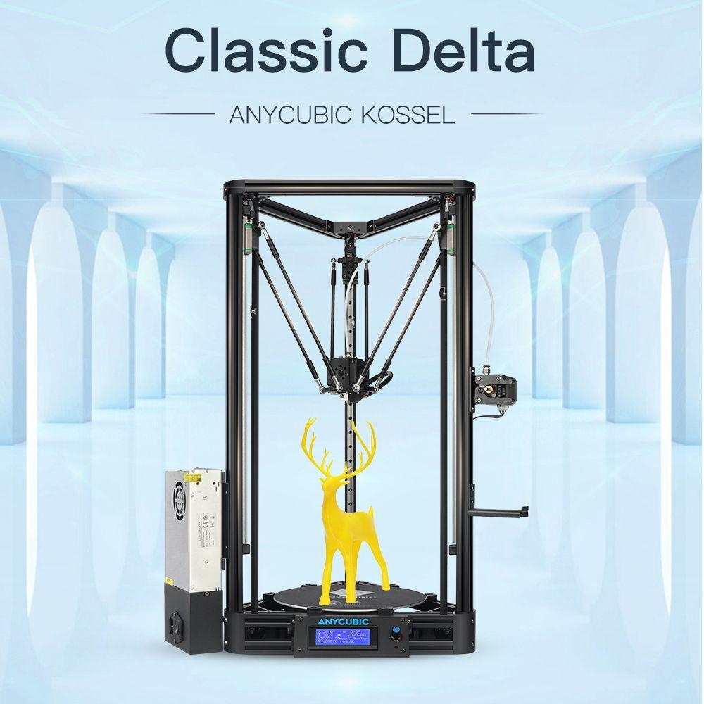 ANYCUBIC 3D Drucker Auto-Leveling Modul Linear Guide Delta Automatische Nivellierung Plattform Plus Große Druck Größe Desktop Diy Kit