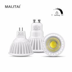 GU10 Led-lampe lampe 110 V 220 V 3 Watt 5 Watt 7 Watt MR16 LED DC/AC 12 V-24 V Dimmbar COB LED Spot-licht Aluminium AC85V-265V GU5.3 Rampenlicht