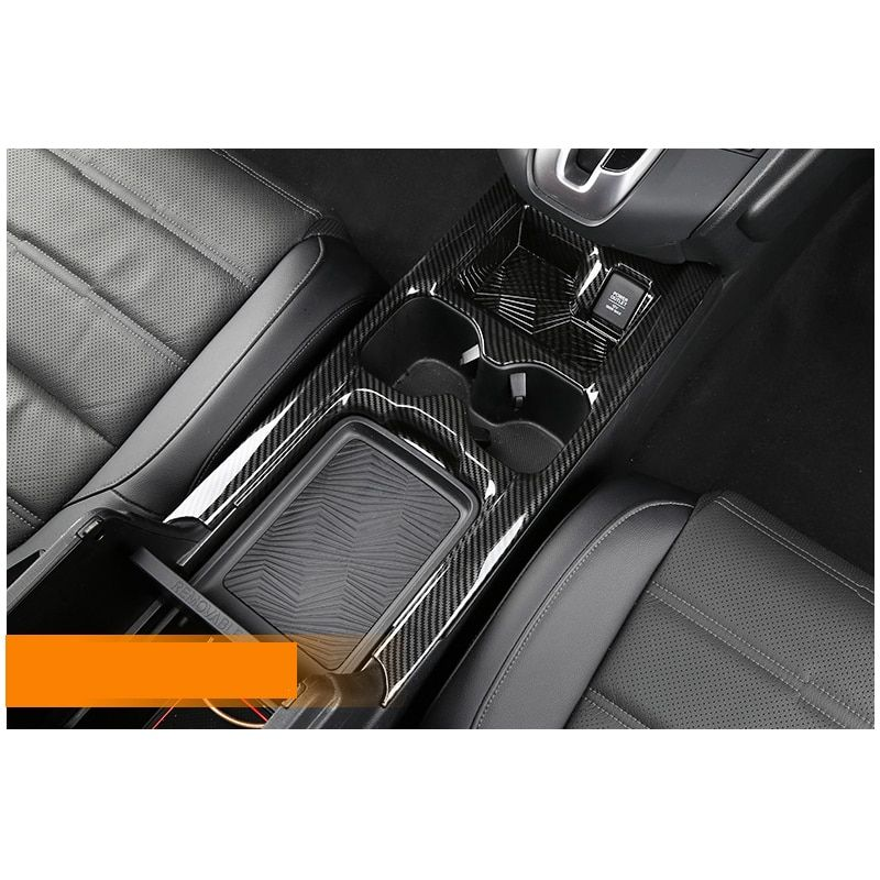 LSRTW2017 car center control panel trim cup frame trim for honda crv honda cr-v 2017 2018 5th generation
