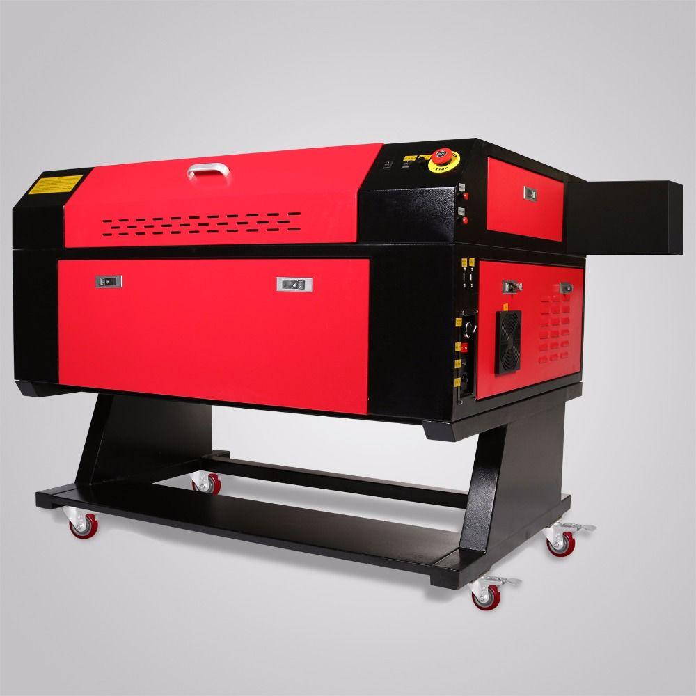 EU Kostenloser versand Co2 laser graviermaschine cutter CNC laserengraver DIY 700*500mm