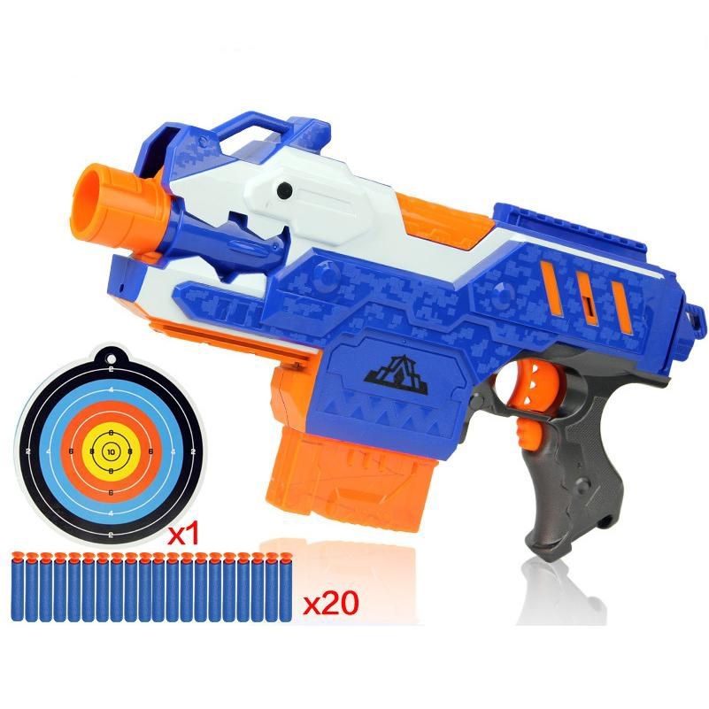 Eva2king Electric Soft Bullet Toy Gun For Children Dart Suit for Nerf Darts <font><b>Perfect</b></font> Suit for Nerf Gun Bullet GunsSniper Rifle