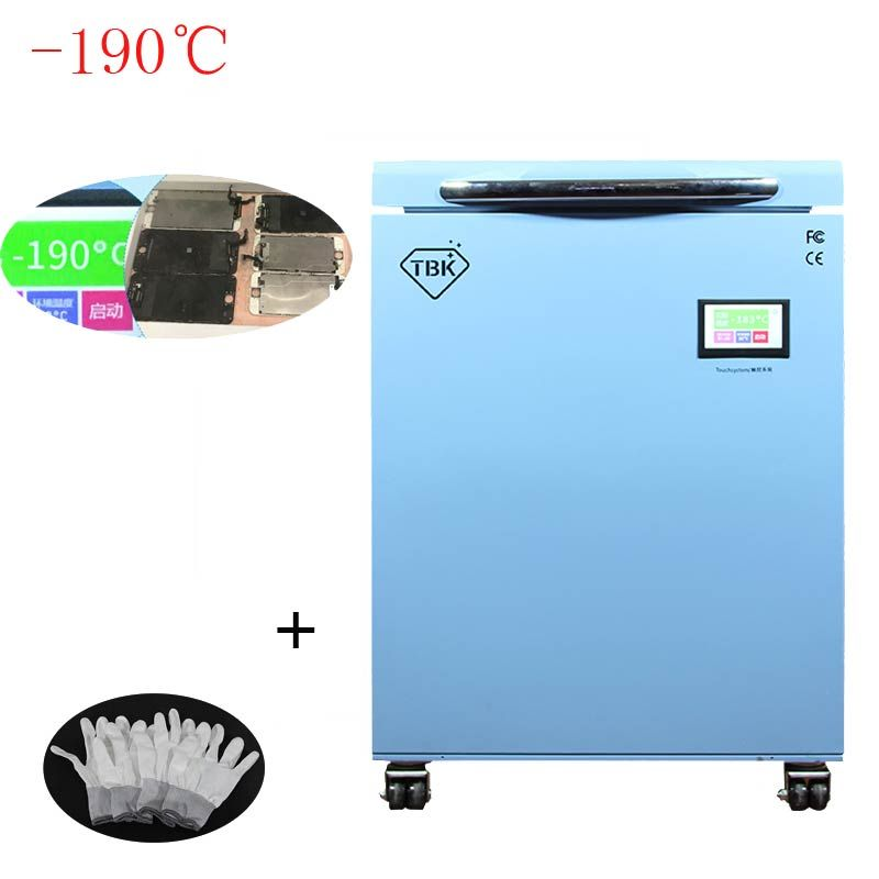 -190C LCD Freezing Machine TBK 588 Frozen Separator Instruments LCD Touch Screen Separating Machine For smasung S6 S7 S8 edge
