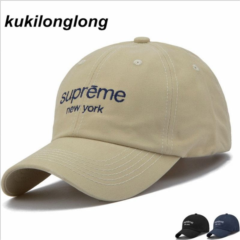kukilonglong 2017 cotton fashion baseball caps solid color letter dad hats super gorras bone cap adjustable hats for girls sport