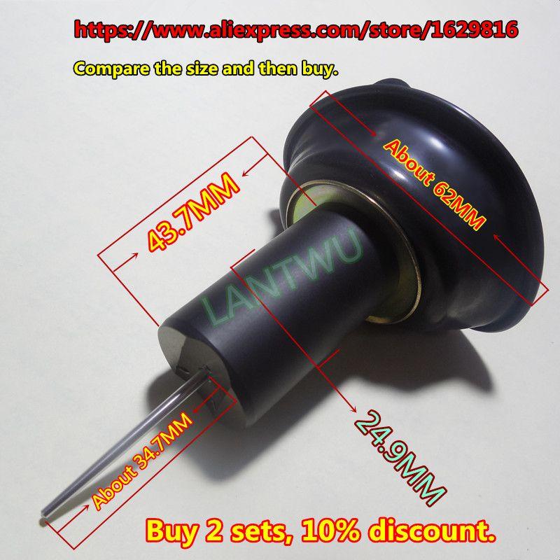 (1 pièces $11.49) peut être utilisé de 1993 à 2000 modèles XJR400 YM moto Mikuni carburateur piston diaphragme (avec aiguille à Jet)